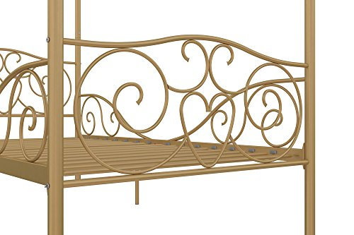 DHP Canopy Metal Bed- Twin 6