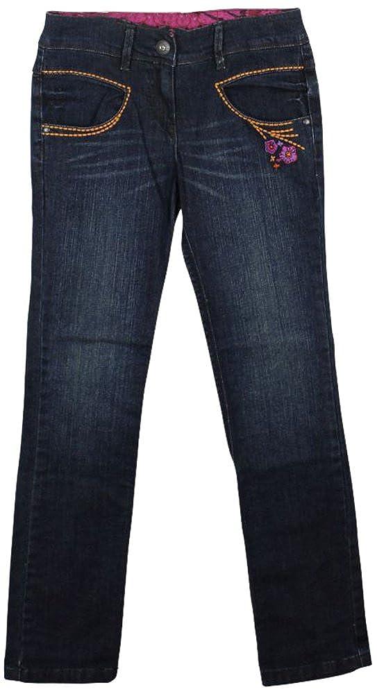 Catimini Embroidered Slim Leg Jeans Blue 12