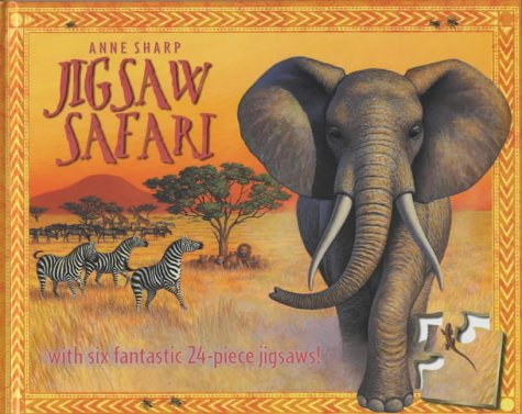 Jigsaw Safari: With Six Fantastic 24-piece Jigsaws! by Pan MacMillan