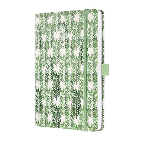 SIGEL J0303 Weekly Diary 2020 Jolie, Approx. A5, hardcover, Jungle Motif, Green