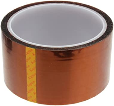 20mm 100ft Kapton Tape High Temperature Heat Resistant Polyimide for 3D P.