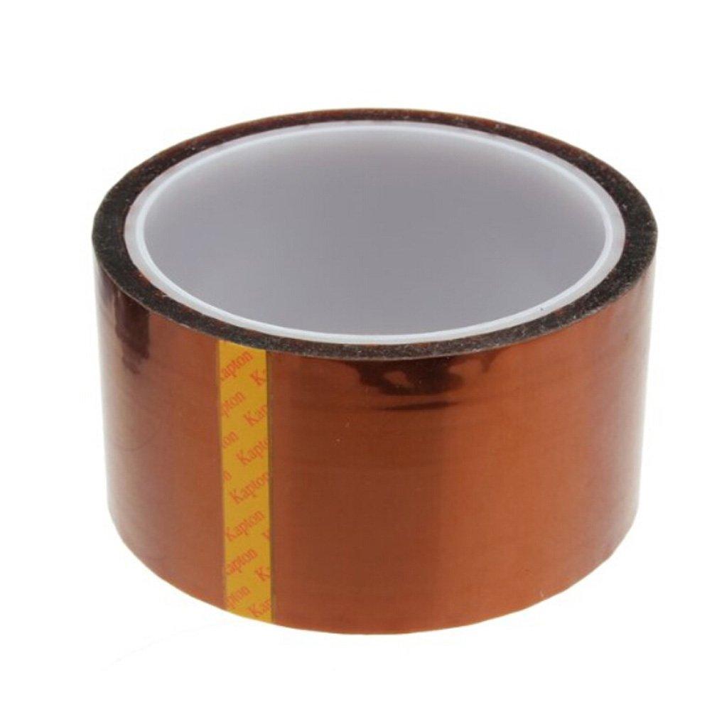 Foxnovo High Temperature Heat Resistant Kapton Tape Polyimide Film Adhesive Tape (50mm*33m)
