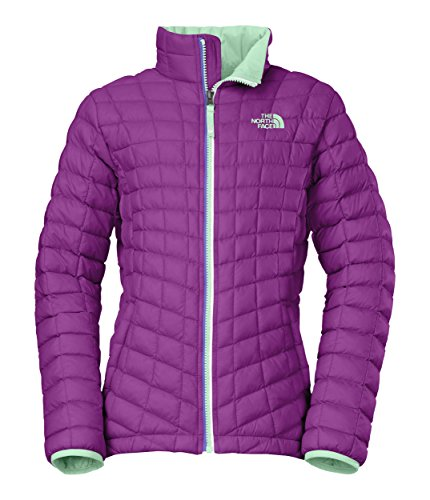 The North Face Girl's Thermoball Full Zip Jacket Magic Magenta Size X-Large by The North Face