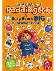 The Adventures of Paddington: A Busy Bear's Big Sticker Book