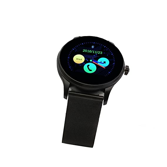 Amazon.com: Smartwatch with Heart Rate Monitor, K88H Smart ...