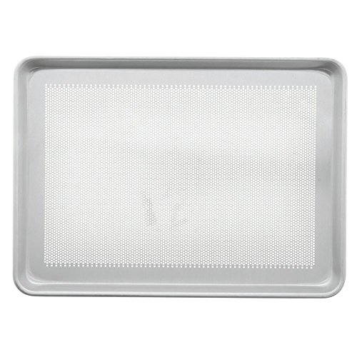 Bundy Chicago Metallic 18 Gauge Aluminum Perforated Bun Pan - 18