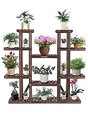 VIVOSUN Plant Stand Shelves Flower Rack Display for Indoor Outdoor Garden Lawn Patio Bathroom Office Living Room Balcony