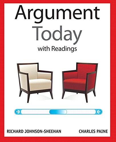 Argument Today W/Readings Text