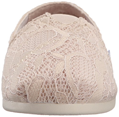 BOBS from Skechers Womens Plush Flat Natural Lace zNIrNP0