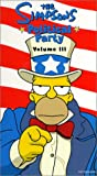 The Simpsons Political Party, Vol. 3 [VHS]
