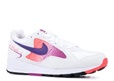 newest 541c2 3d70b Nike AO1551 103, Baskets pour Homme Weiß Solar Red Vivid Purple Court