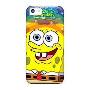 High Quality MQMshop Spongebob Skin Case Cover Specially Designed For Iphone - 5c