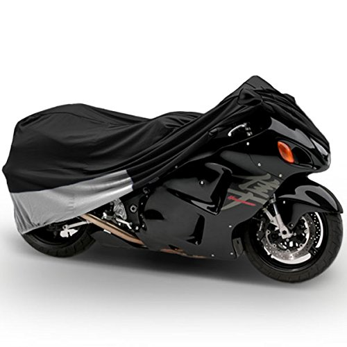Motorcycle Bike Cover Travel Dust Storage Cover For Kawasaki Concours Voyager 1000 1200