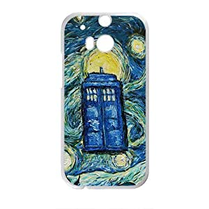 Happy Doctor Who Pattern Fashion Comstom Plastic case cover For HTC One M8