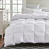 Selection Bedding Ultra Soft Comforter 300 GSM 1000 Thread Count 100% Egyptian Cotton Solid Full Navy Blue