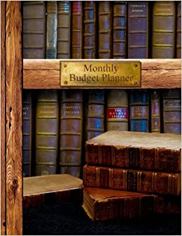 monthly budget planner bill organizer book with weekly calendar