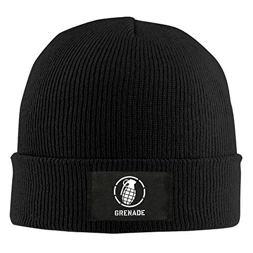 Winter Cool Vintage Grenade Hand Grenade Graphic Knit Hat Beanie Hat ()