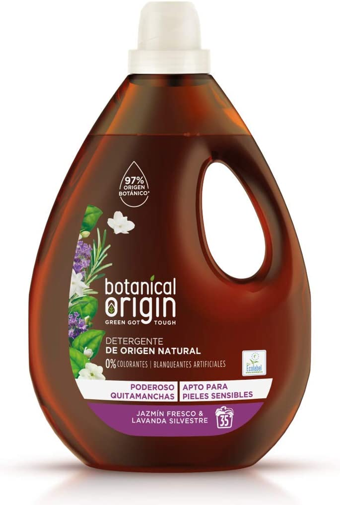 Botanical Origin Detergente para lavadora ecológico apto para ...