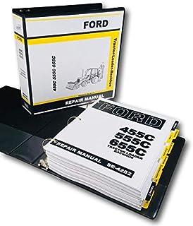 Amazon.com: Ford 455C 555C 655C Tractor Cargador Retrohoe ...