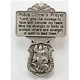 St. Michael Police Officer Prayer Visor Clip