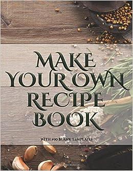 amazon make your own recipe book make your own recipe book
