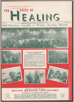 Amazon com : Voice of Healing magazine- 20 issues from the 1950s
