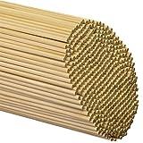 """Wooden Dowel Rods 3/16"""" x 12"""" - Bag of 100"""