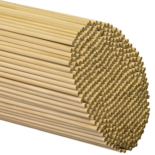 Wooden Dowel Rods 3/16