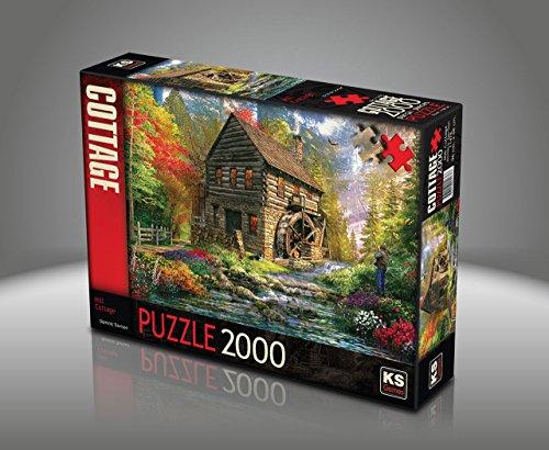 Sk Jigsaw Puzzle 2000 Pieces Dominic Davison Mill Cottage