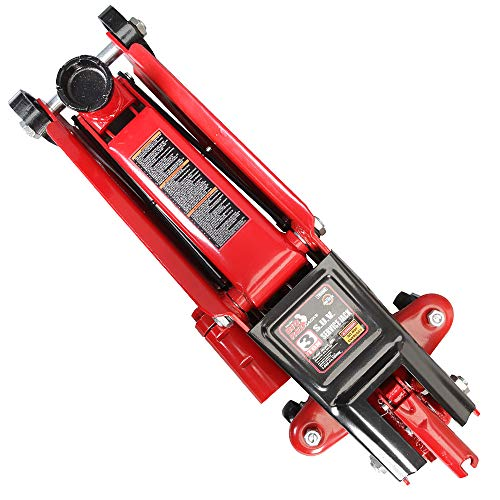 Torin Big Red Hydraulic Trolley Floor Jack: SUV / Extended