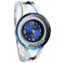 Addic Rolling Diamonds Amazing Blue Dial Watch for Women's &