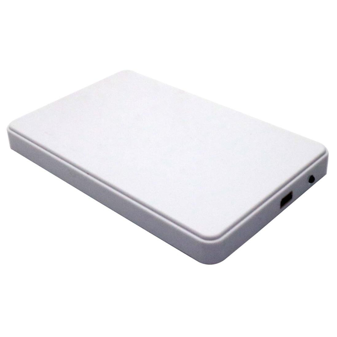 USB 3.0 3tb Hi - Speed外部ハードドライブポータブルデスクトップLEDモバイルハードディスクケース、FreshZone B076J51QLT ホワイト