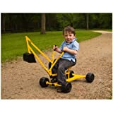WonkaWoo Toys Dig & Swivel Sand Digger Riding Push Toy