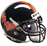 Schutt NCAA Mississippi Collectible Mini Football Helmet