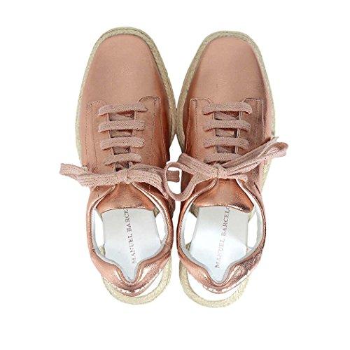 Paloma Barcelo Manuel BARCELÒ BELGRAVE Laminated Pink Rope Sneaker hGsaUTdKp