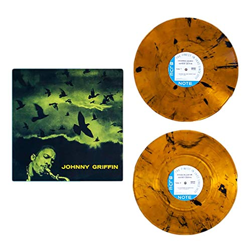 Johnny Griffin - A Blowing Session Exclusive Amber w/ Black Smoke, 180g, 2XLP Limited Edition #/1500