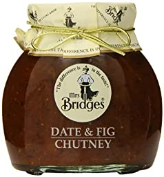 Mrs. Bridges Date and Fig Chutney, 10.4 Ounce