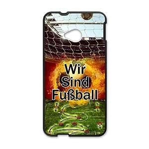 NICKER Wir Sind Football Hot Seller Stylish Hard Case For HTC One M7