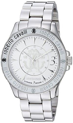 1c4b270c8e77 Roberto Cavalli by Franck Muller Women s Swiss Quartz Stainless Steel  Casual Watch