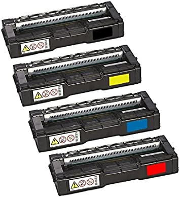 New Compatible 407539-407542 Toner Cartridge For Ricoh SP C250DN SP C250SF