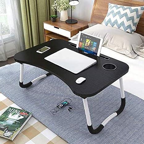 JS - Mesa para portátil, portátil, con Mesa para Dormir y Mesa de ...