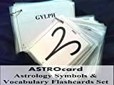 ASTROcard Astrology Symbols & Vocabulary Flashcards Set