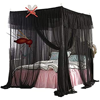 Obokidly mosquito canopy net for bed luxury - Bed canopies for adults ...