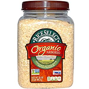 Amazon.com: Riceselect Rice Arborio Jar Org: Health