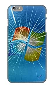AsAEBm-1765-wHahC Cover Case - Broken Windows Protective Case Compatibel With Iphone 6 Plus