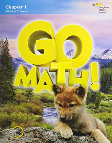 GO Math!: Multi-Volume Student Edition Bundle Grade 1 2015