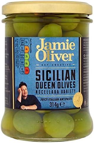 Jamie Oliver Sicilian Queen Olives 314g Küche Haushalt