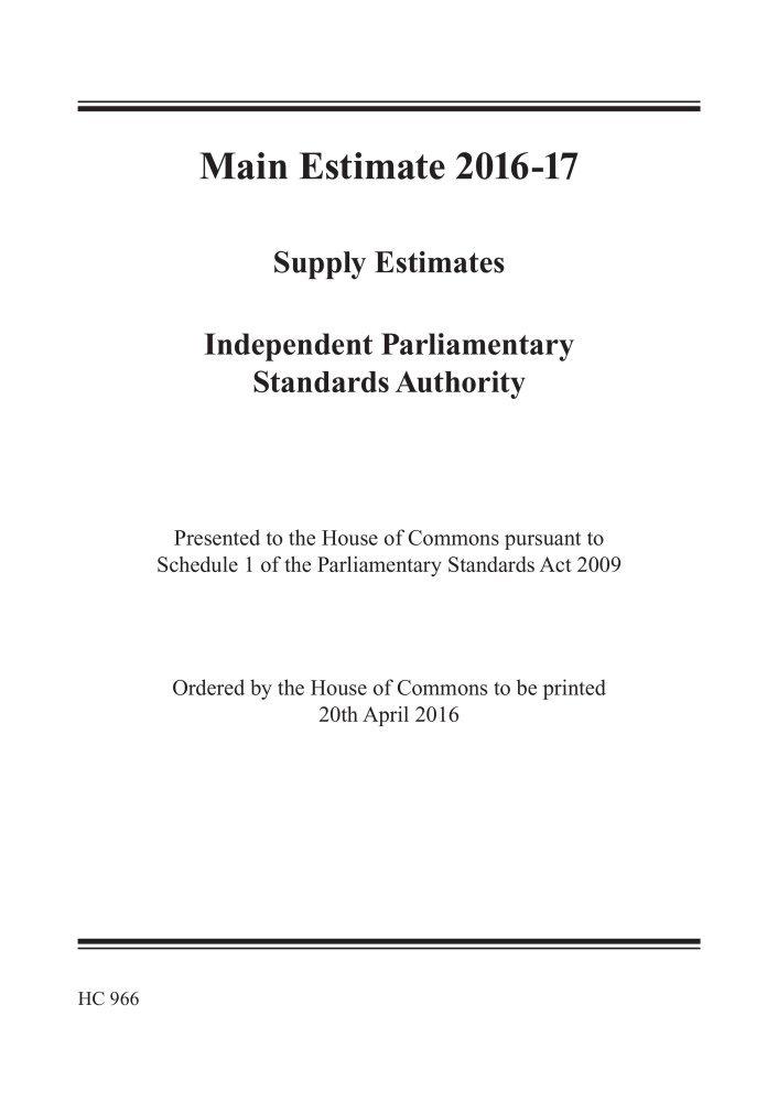 Amazon | Independent Parliamen...