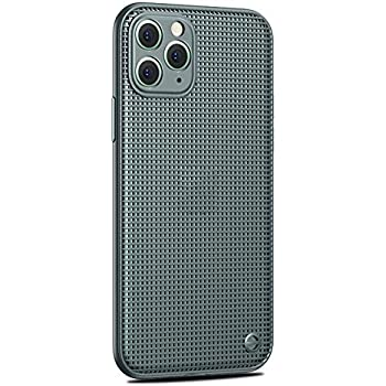 Applicable to iPhone 11/iPhone 11 Pro/iPhone 11 Pro Max Cooling Phone Case Mesh Breathable Drop-Proof TPU Soft Shell,Green,iPhone11ProMax