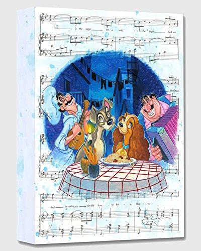 Disney Fine Art Bella Notte 16